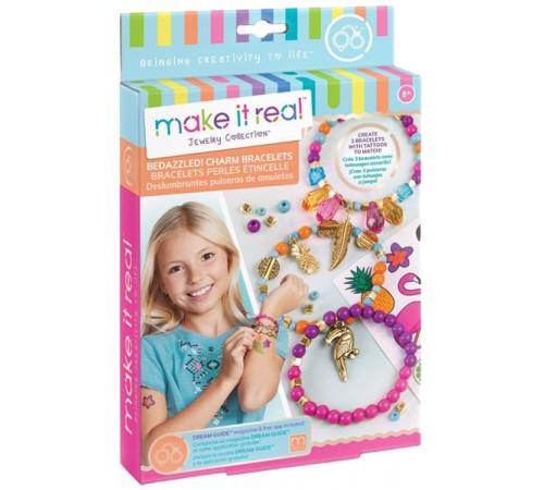 """make it real 1201 Набор для создания шарм-браслетов """"Джунгли"""""""