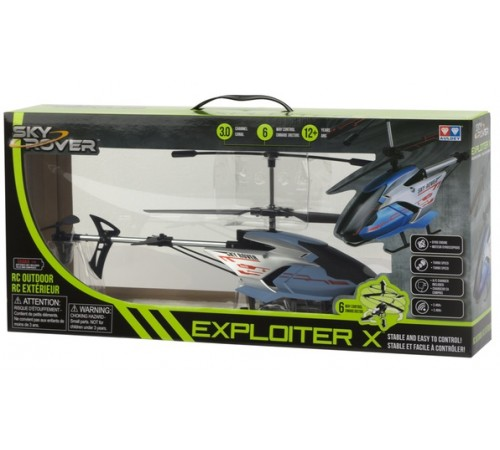 """Детскиймагазин в Кишиневе в Молдове sky rover 41845 Радиоуправляемый вертолет """"exploiter x"""""""