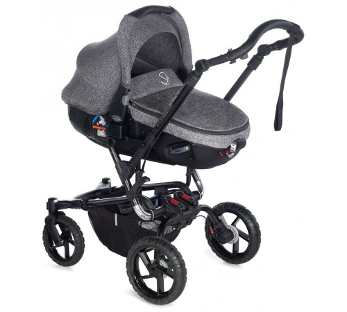 jane Коляска 2-в-1 crosswalk matrix travel system (5471 t29) серый