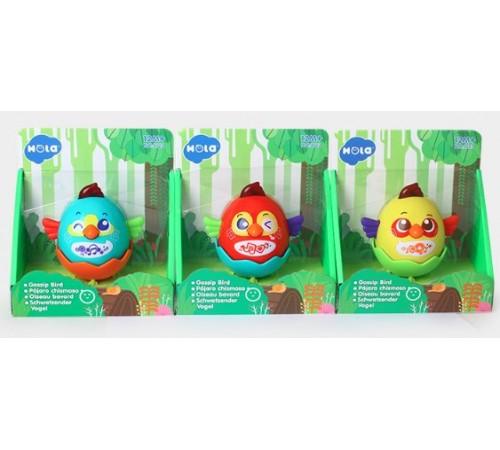 """hola toys 3123 Интерактивная игрушка """"Птичка"""" в асс."""