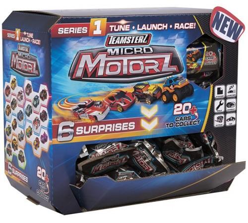 """teamsterz 1416815 Набор """"micro motorz"""" базовый в непрозрачной упаковке в асс."""