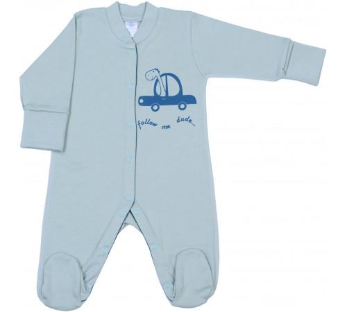 """Одежда для малышей в Молдове veres 101.93.62 Комбинезон """"follow me"""" (интерлок) р.62"""