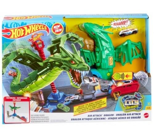 """hot wheels gjl13 Игровой набор """"Воздушная атака дракона"""""""