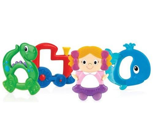 "Jucării pentru Copii - Magazin Online de Jucării ieftine in Chisinau Baby-Boom in Moldova nuby id661 inel gingival ""prieteni veseli"" in sort. (4)"