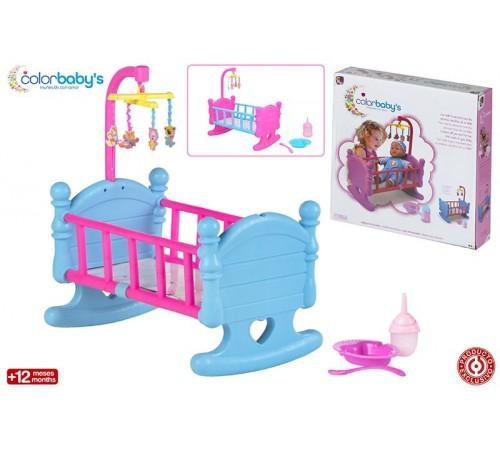Детскиймагазин в Кишиневе в Молдове color baby 43316 Кроватка для куклы