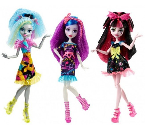 "Jucării pentru Copii - Magazin Online de Jucării ieftine in Chisinau Baby-Boom in Moldova monster high dvh65 papusa ""prietena""  în sort.(3)"