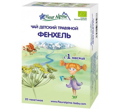 """Детское питание в Молдове fleur alpine Детский чай """"Фенхель"""" 30 gr. (1+)"""