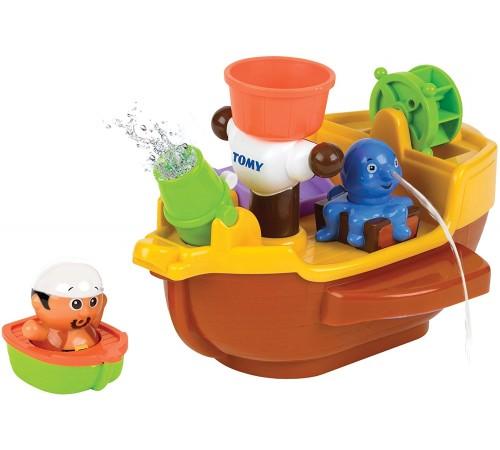 """tomy 27729 Игрушка для купания """"Пиратский корабль"""" e71602"""