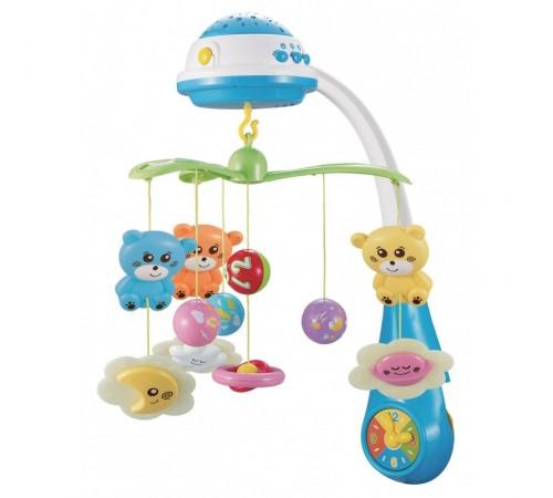 Детскиймагазин в Кишиневе в Молдове baby mix fs-35604 blue Карусель Музыкальная с проектором