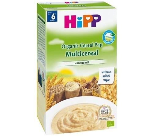 hipp 2916 terci de multicereale fără lapte organic (6m+) 200 gr.
