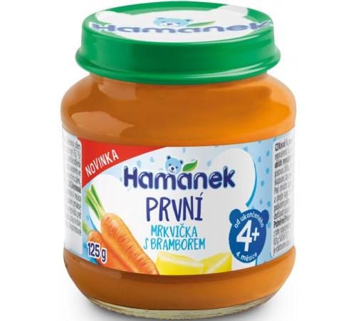 """hame piure """"hamanek"""" morcovi-cartofi 125 gr. (4 m+)"""