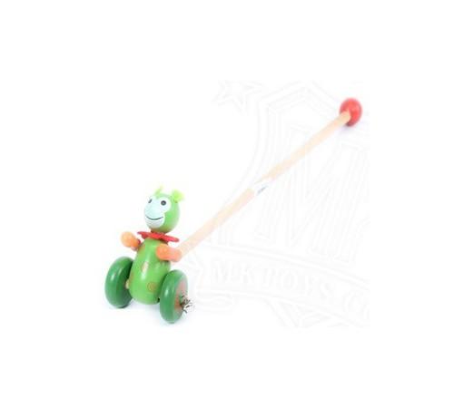 """Jucării pentru Copii - Magazin Online de Jucării ieftine in Chisinau Baby-Boom in Moldova op Р06.05 jucarie de impins din lemn """"broască"""""""