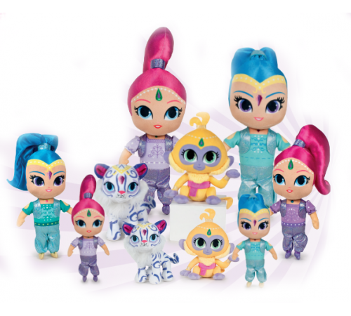 play by play 760015570 shimmer & shine (in sort. 4) 30 cm