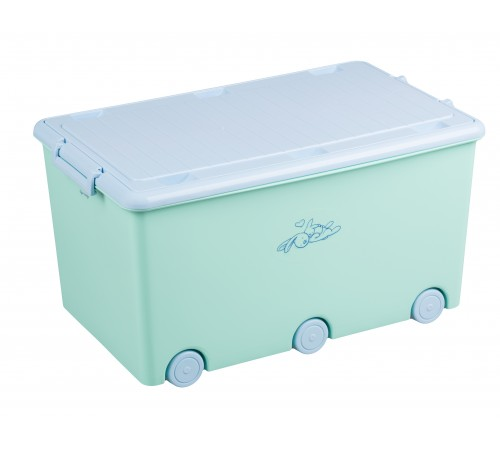 "tega baby container pentru jucarii ""bunny"" kr-010-105 verde"