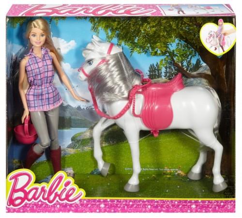 "dhb68 Набор barbie ""Прогулка верхом"""