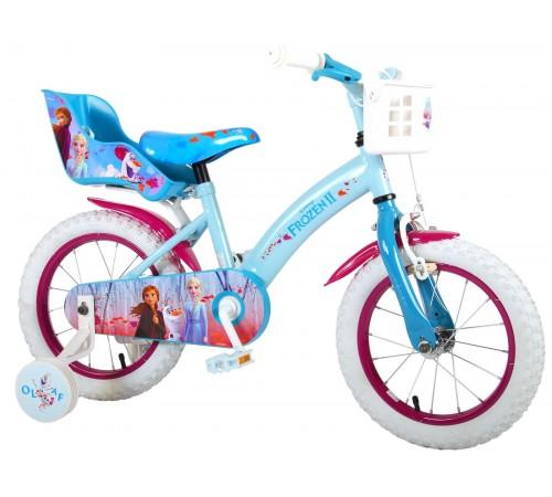 "volare Велосипед ""frozen2 14""  91450-ch голубой"