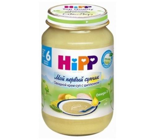hipp 7973 Овощной коем суп с цыплёнком (6m+) 190 гр.