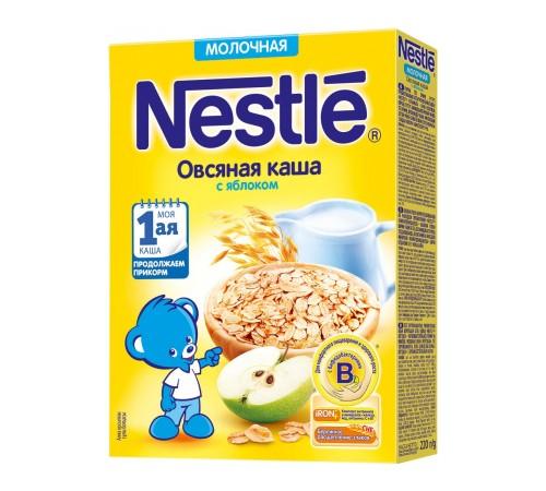 Детское питание в Молдове Каша молочная nestle овсяная с яблоком с 5 мес. 220 г