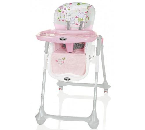 brevi scaun pentru copii convivio 595 roz