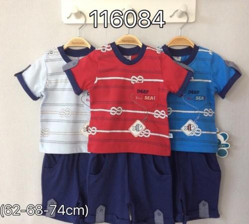 Одежда для малышей в Молдове twetoon baby 116084 Комплект летний (шорты и футболка)