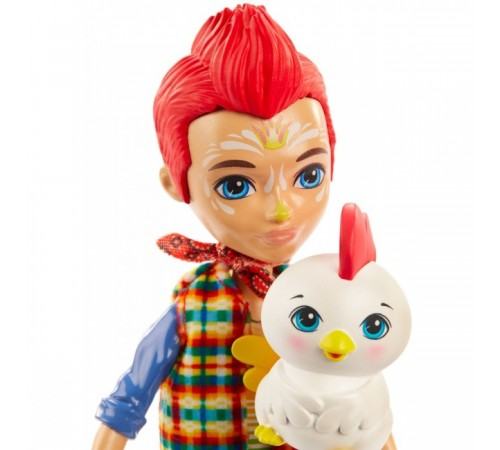 """enchantimals gjx39 Кукла """"Ривод Рустер"""""""