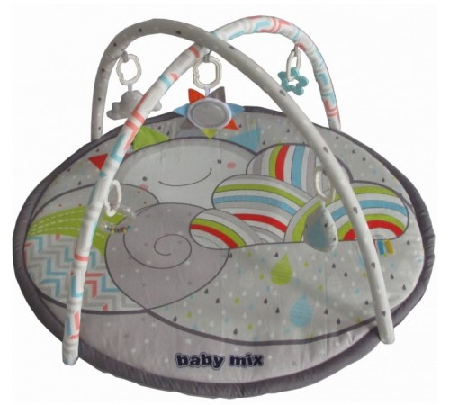 """baby mix tk/3448pp-da00 Игровой развивающий коврик """"Карусель"""""""