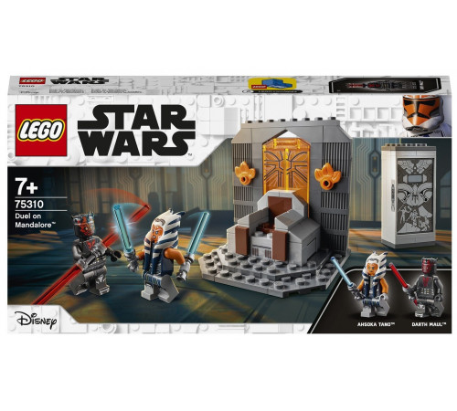 "lego star wars 75310 Конструктор ""Дуэль на Мандалоре "" (147 дет.)"