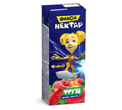 Фрути nectar mere-piersic 0,2л (fixiki)