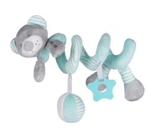 """baby mix stk-19391 mb Спираль для коляски """"Мишка"""" мята"""