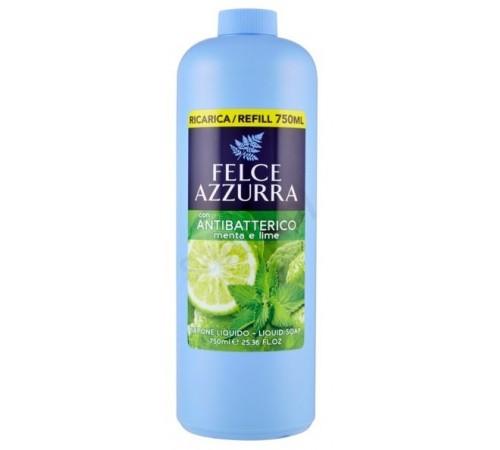 "paglieri Жидкое антибактериальное мыло ""mint and lime"" (750 мл.) 024340 (запаска)"
