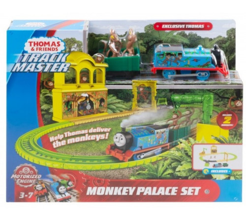 """thomas&friends fxx65 set de joc motorizat """"monkey palace"""""""