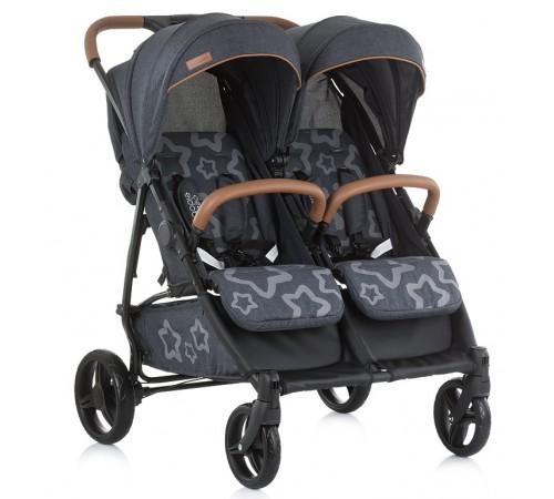 Детские коляски в Молдове chipolino Коляска для двойни passo doble kbpd01901gg  серый