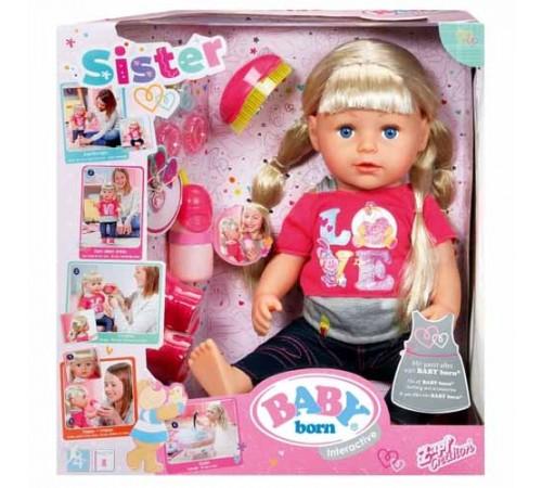 zapf creation 820704 Кукла Старшая Сестренка baby born (43 см.)