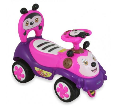 """baby mix ur-7625 pink mașină pentru copii """"albinuța"""""""