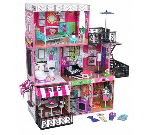 kidkraft 65922-msn Домик для кукол brooklyn's loft