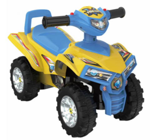 baby mix ur-hz551 mașină atv galben/albastru