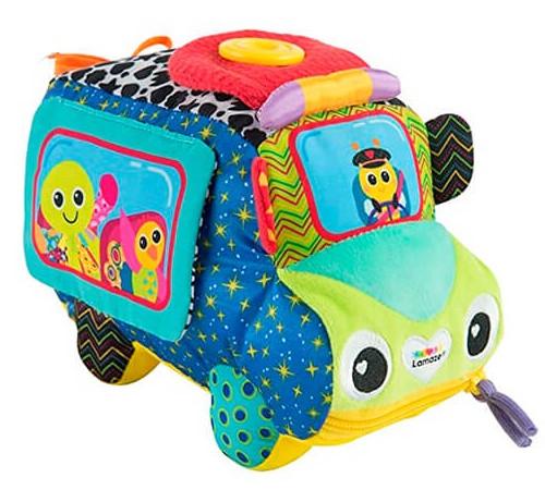 """Детскиймагазин в Кишиневе в Молдове tomy 27337 Мягкая развивающая игрушка """"Автобус""""  l27180"""