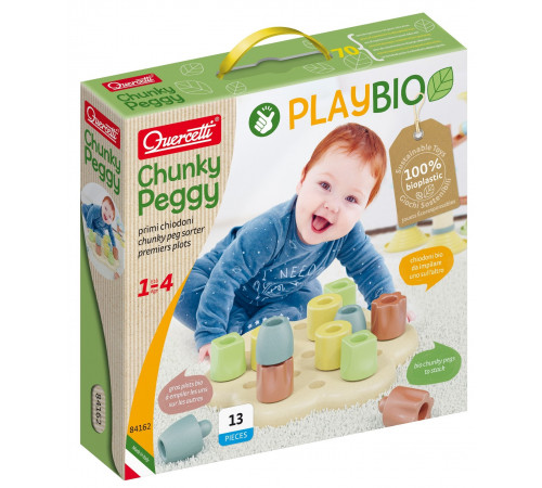 "quercet 84162 Развивающая игра ""chunky peggy bio"""