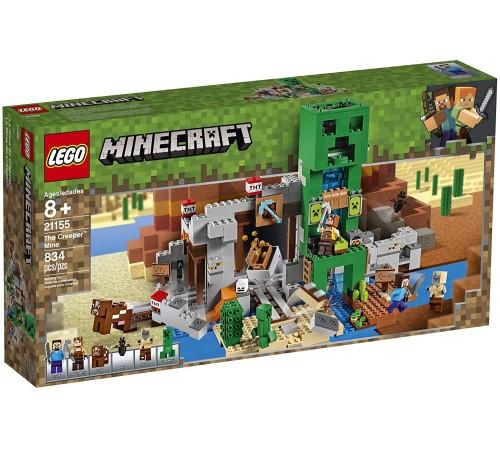"""lego minecraft 21155 Конструктор """"Шахта Крипера"""" (834 дет.)"""