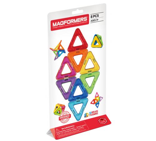 """Детскиймагазин в Кишиневе в Молдове magformers 701002 Магнитный конструктор """"triangle"""" (14 эл.)"""