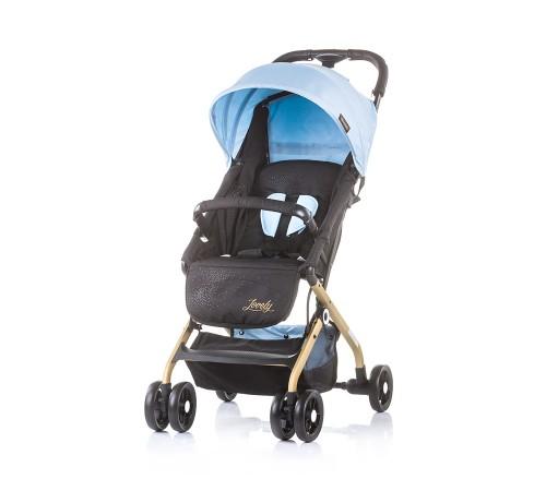 chippolino коляска lovely 0+ lklv01802bm голубой