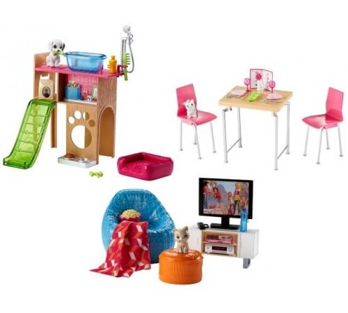 barbie dvx44 Набор мебели для дома в асс.(3)