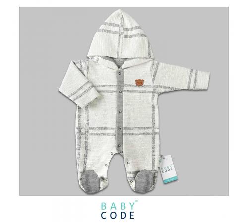"""Одежда для малышей в Молдове baby code 313002 Комбинезон """"Клетка"""" (62-68-74 см.)"""