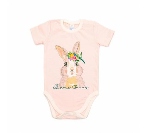 Одежда для малышей в Молдове veres 102-4.77.80 Боди-футболка summer bunny р.80