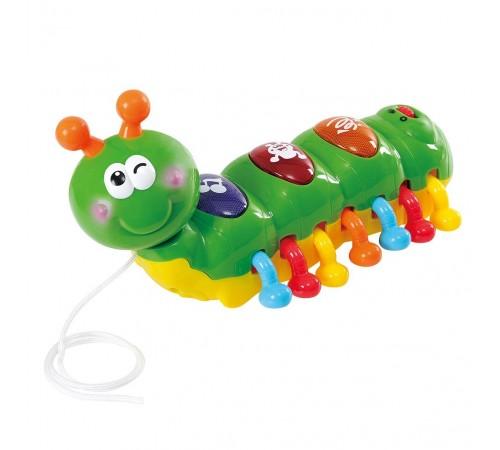 "playgo 2222 Музыкальная игрушка-каталка ""Гусеница"""