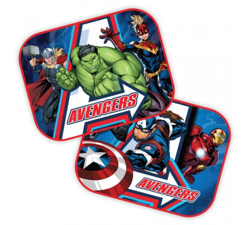 """seven 9324 Защитная шторка от солнца """"avengers"""" (2 шт.)"""
