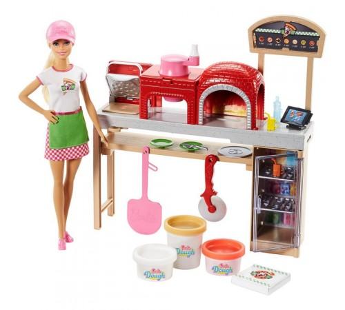 "barbie fhr09 set cu papusa barbie ""pizza"""
