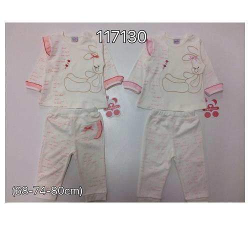 Одежда для малышей в Молдове twetoon baby 117130 Комплект 2ед.(штанишки и батник)