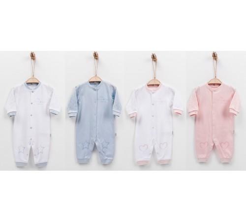 "Одежда для малышей в Молдове kitikate s14815 Комбинезон organic dreams ""love me""в асс."