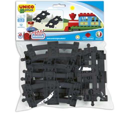 """androni 8540-0001 constructor unicoplus """"cale ferată"""" (12 el.)"""